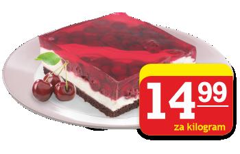 ciasto kostka wiśniowa Rem Marco