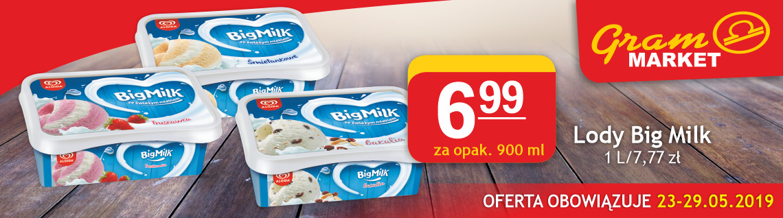 lody Big Milk 900 ml