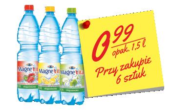 woda MagneVita smakowa