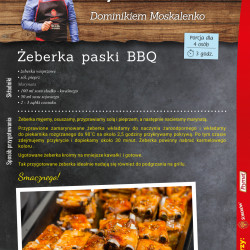 12 - żeberka paski BBQ