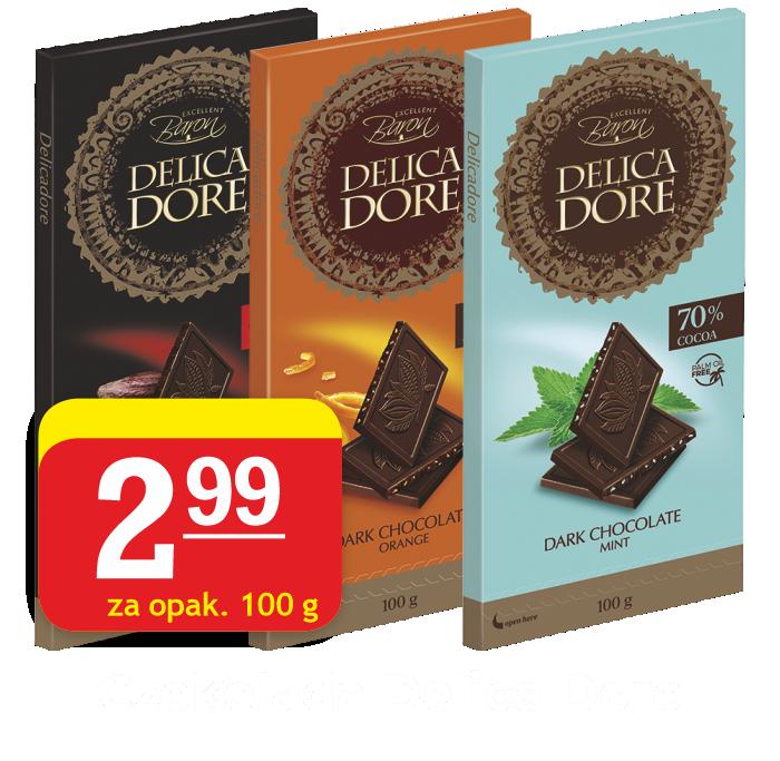 Czekolada Delica Dore